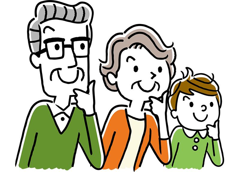 子どもの次の世代(例えば孫)に対し、「二次相続」をおこなえます。
